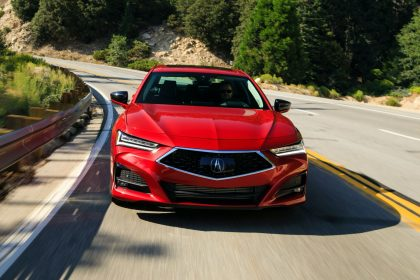 Download 2021 Acura TLX Advance HD Wallpapers