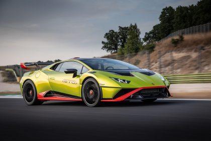 Download 2021 Lamborghini Huracán STO HD Wallpapers