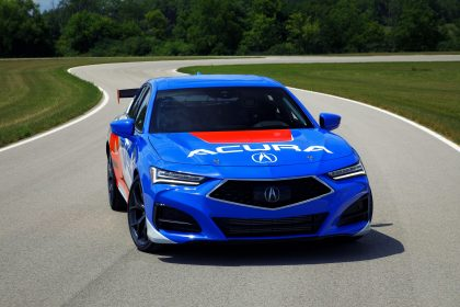 2020 Acura TLX Type S Time Attack Pikes Peak - Front Wallpapers 420x280