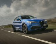 2020 Alfa Romeo Stelvio Veloce - Front Three-Quarter Wallpapers 190x150