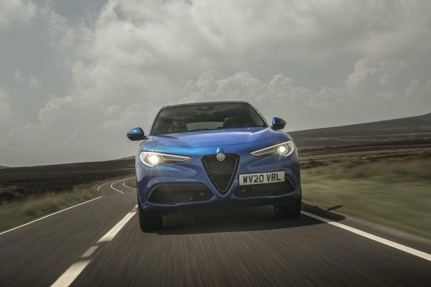 2020 Alfa Romeo Stelvio Veloce - Front Wallpapers 850x567 #6
