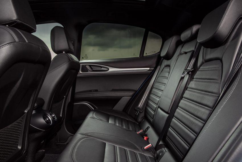 2020 Alfa Romeo Stelvio Veloce - Interior, Rear Seats Wallpapers 850x567 #37