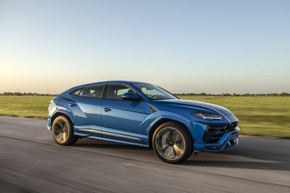 2020 Hennessey Lamborghini Urus HPE750 - Front Three-Quarter Wallpapers 420x280