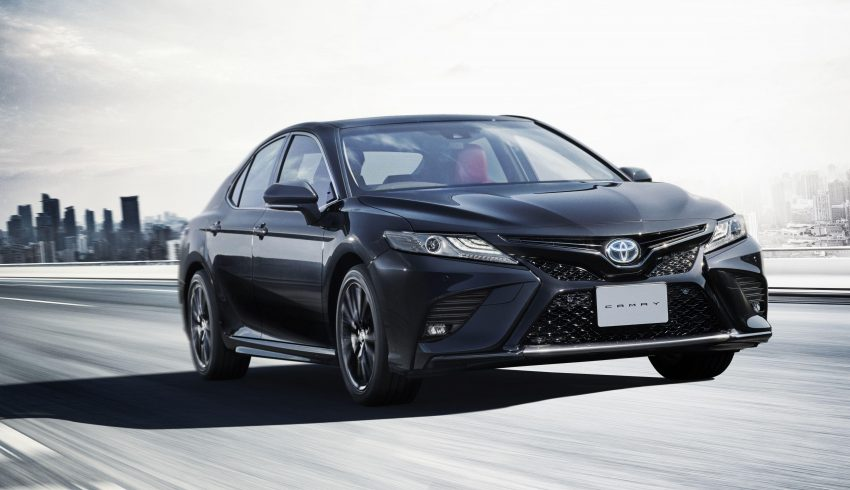 2020 Toyota Camry WS Black Edition - Front Three-Quarter Wallpapers 850x490 #1