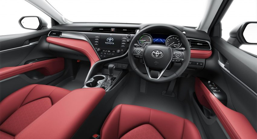 2020 Toyota Camry WS Black Edition - Interior, Cockpit Wallpapers 850x461 #10