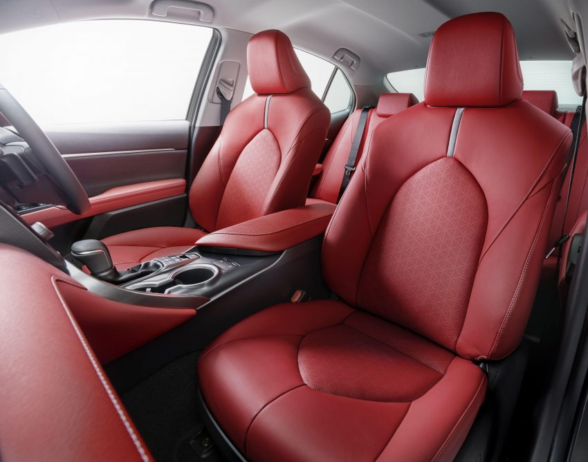 2020 Toyota Camry WS Black Edition - Interior, Front Seats Wallpapers 850x668 #7