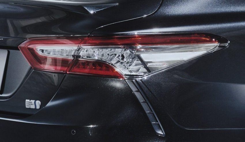 2020 Toyota Camry WS Black Edition - Tail Light Wallpapers 850x492 #4