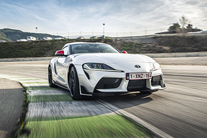 2020 Toyota GR Supra 2.0 Fuji Speedway Edition - Front Wallpapers 420x280