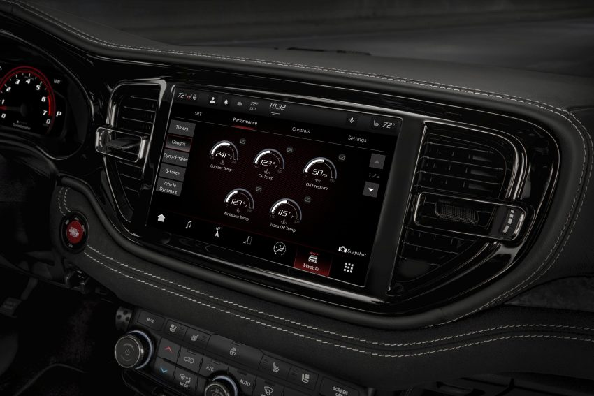 2021 Dodge Durango SRT Hellcat - Central Console Wallpapers 850x567 #64