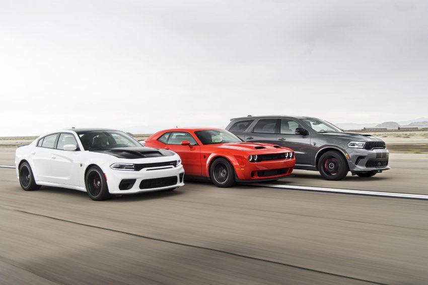 2021 Dodge Durango SRT Hellcat - Front Three-Quarter Wallpapers 850x567 #12