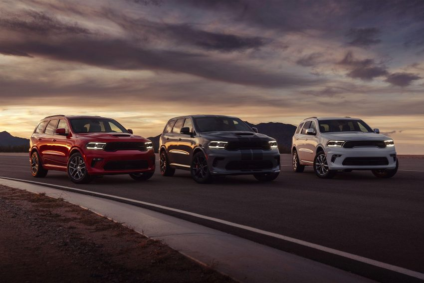 2021 Dodge Durango SRT Hellcat - Front Three-Quarter Wallpapers 850x567 #5