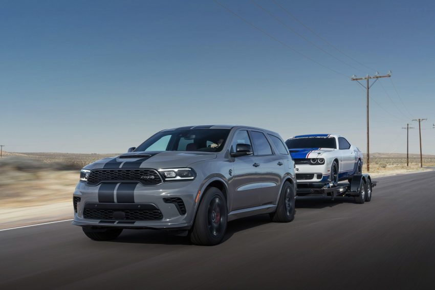 2021 Dodge Durango SRT Hellcat - Front Three-Quarter Wallpapers 850x567 #17
