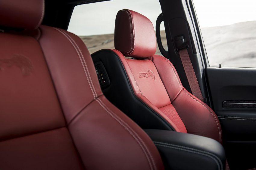 2021 Dodge Durango SRT Hellcat - Interior, Front Seats Wallpapers 850x567 #54