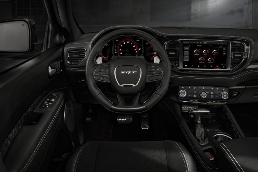 2021 Dodge Durango SRT Hellcat - Interior, Steering Wheel Wallpapers 850x567 #52