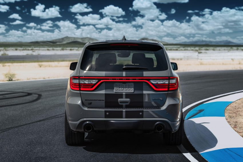 2021 Dodge Durango SRT Hellcat - Rear Wallpapers 850x567 #28