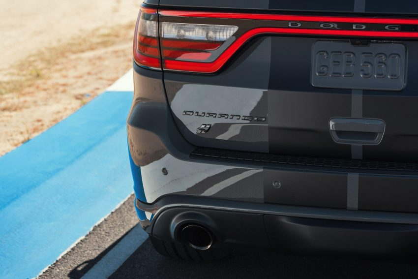 2021 Dodge Durango SRT Hellcat - Tail Light Wallpapers 850x567 #37