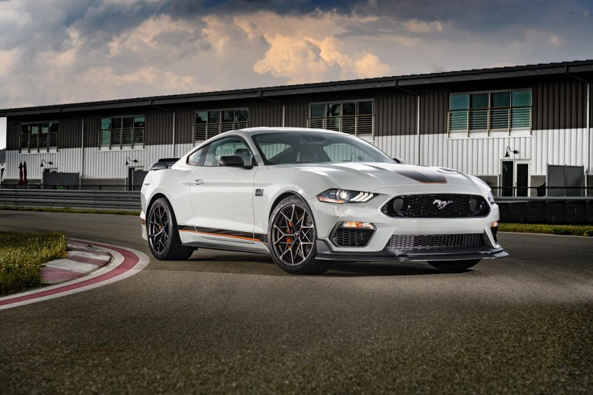 2021 Ford Mustang Mach 1 Handling Package - Front Three-Quarter Wallpapers 850x567 #10