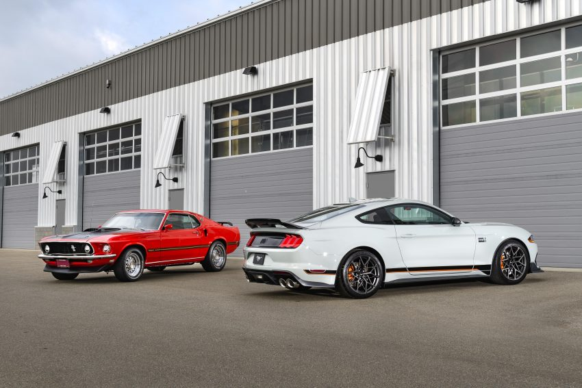 2021 Ford Mustang Mach 1 Handling Package - Front Three-Quarter Wallpapers 850x567 #14