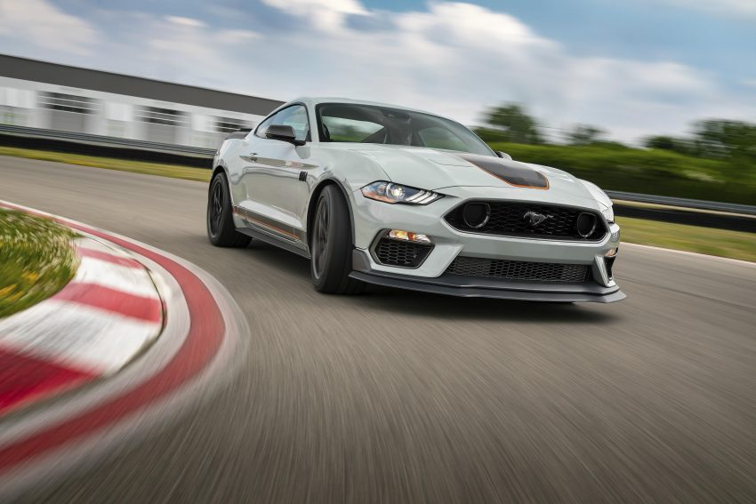 2021 Ford Mustang Mach 1 Handling Package - Front Three-Quarter Wallpapers 850x567 #2