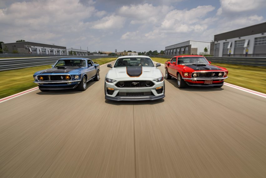 2021 Ford Mustang Mach 1 Handling Package - Front Wallpapers 850x567 #8