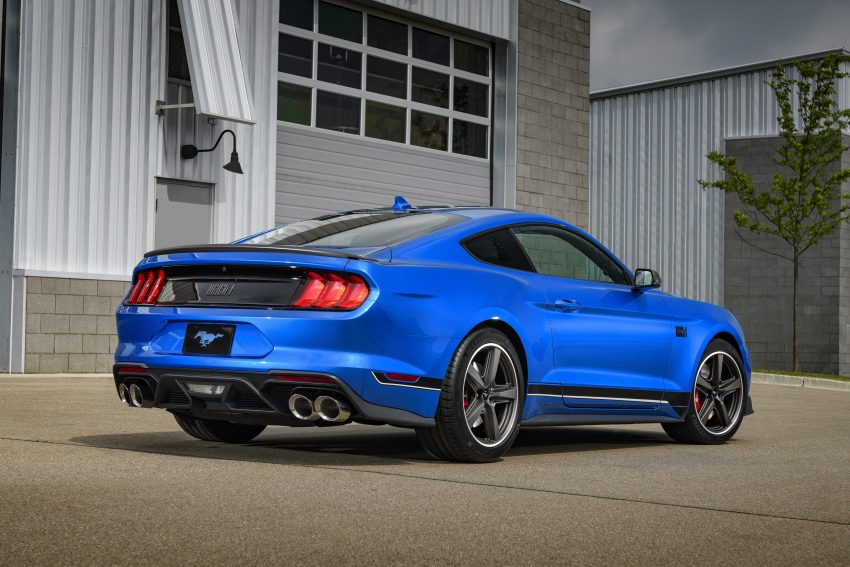 2021 Ford Mustang Mach 1 - Rear Three-Quarter Wallpapers 850x567 #7