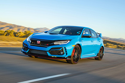 2020 Honda Civic Type R - Front Three-Quarter Wallpapers 420x280