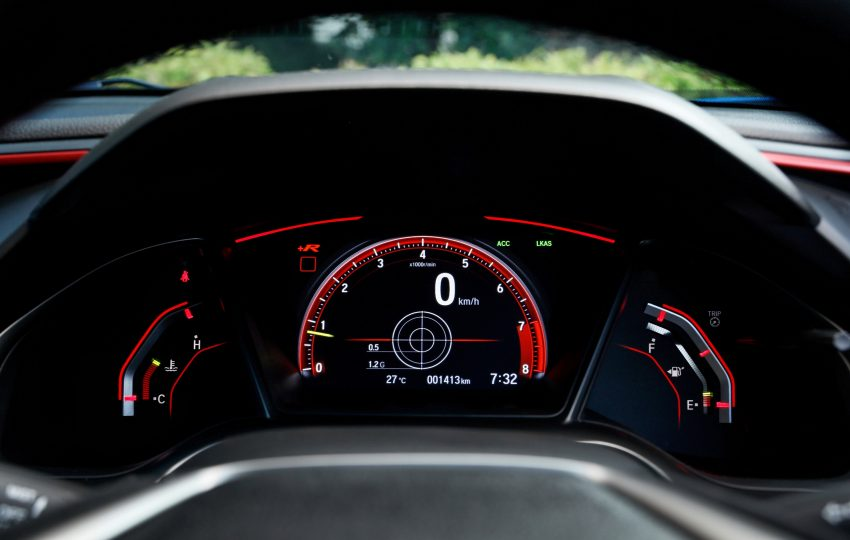 2020 Honda Civic Type R - Instrument Cluster Wallpapers 850x540 #40