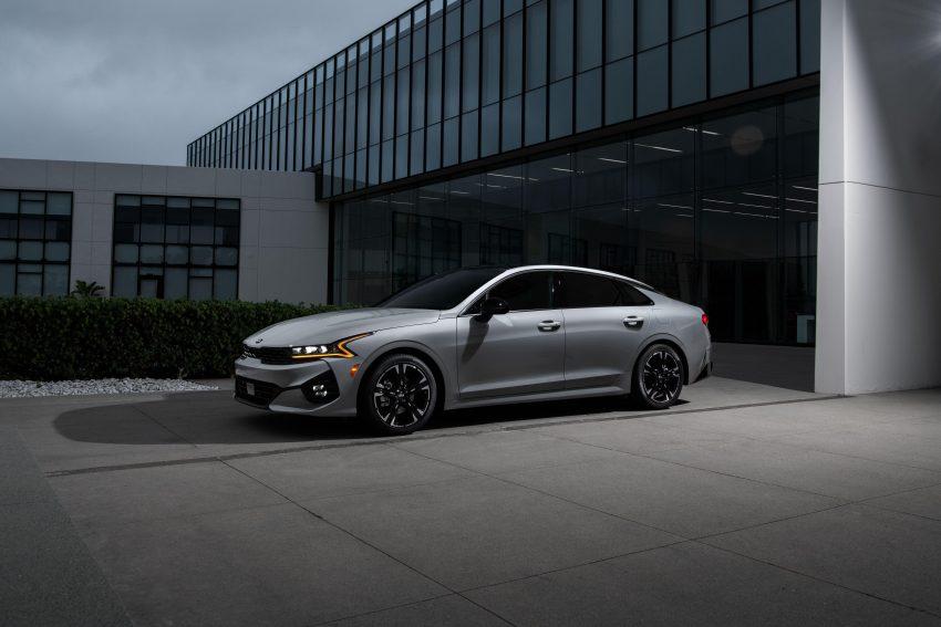 2021 Kia K5 GT-Line AWD - Front Three-Quarter Wallpapers 850x567 #15