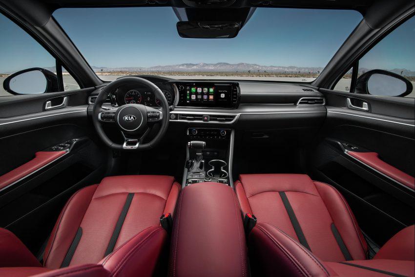 2021 Kia K5 GT-Line AWD - Interior, Cockpit Wallpapers 850x567 #28