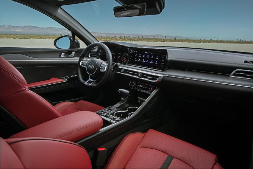 2021 Kia K5 GT-Line AWD - Interior Wallpapers 850x567 #27