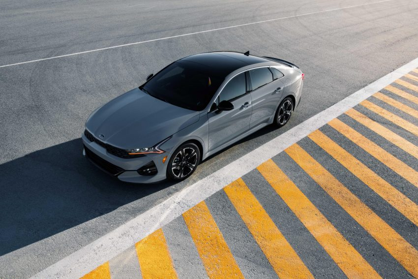 2021 Kia K5 GT-Line AWD - Top Wallpapers 850x567 #12