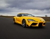 2021 Toyota GR Supra 2.0 [US-spec] - Front Three-Quarter Wallpapers 190x150