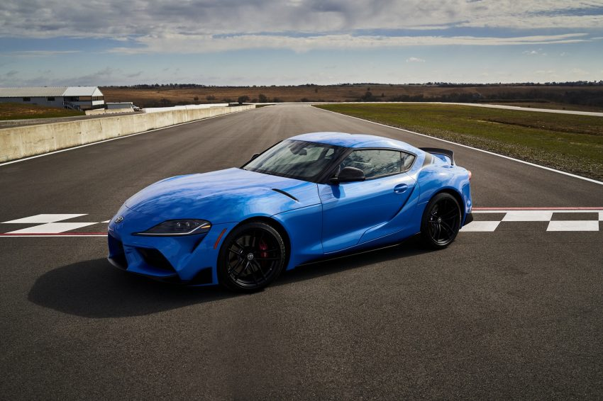 2021 Toyota GR Supra A91 Edition - Front Three-Quarter Wallpapers 850x566 #1