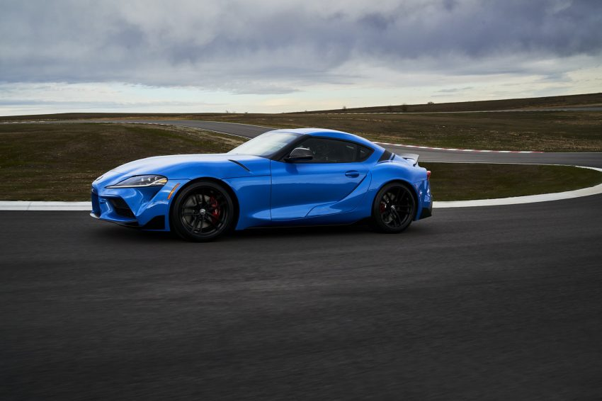 2021 Toyota GR Supra A91 Edition - Front Three-Quarter Wallpapers 850x566 #2