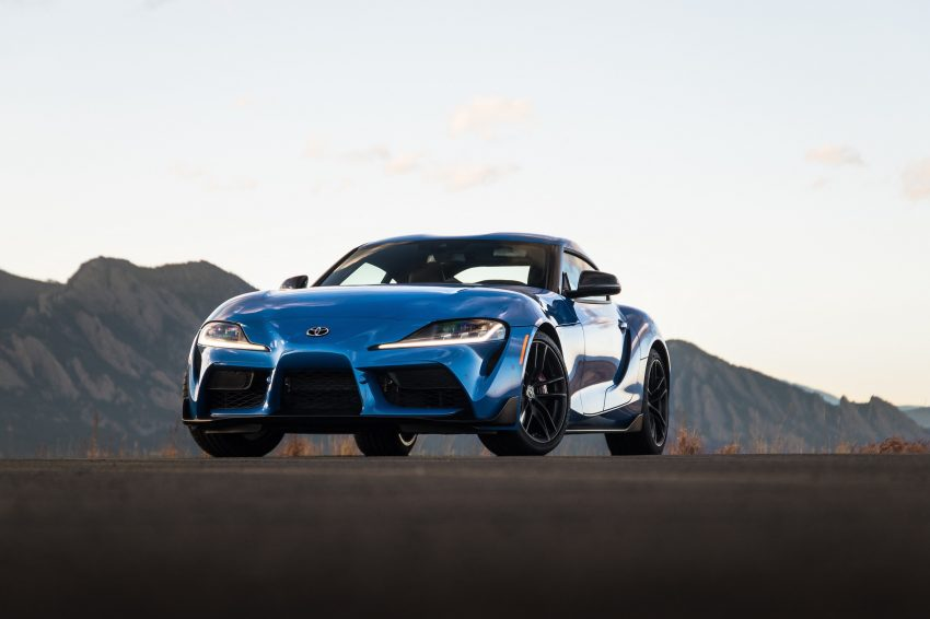 2021 Toyota GR Supra A91 Edition - Front Wallpapers 850x566 #21
