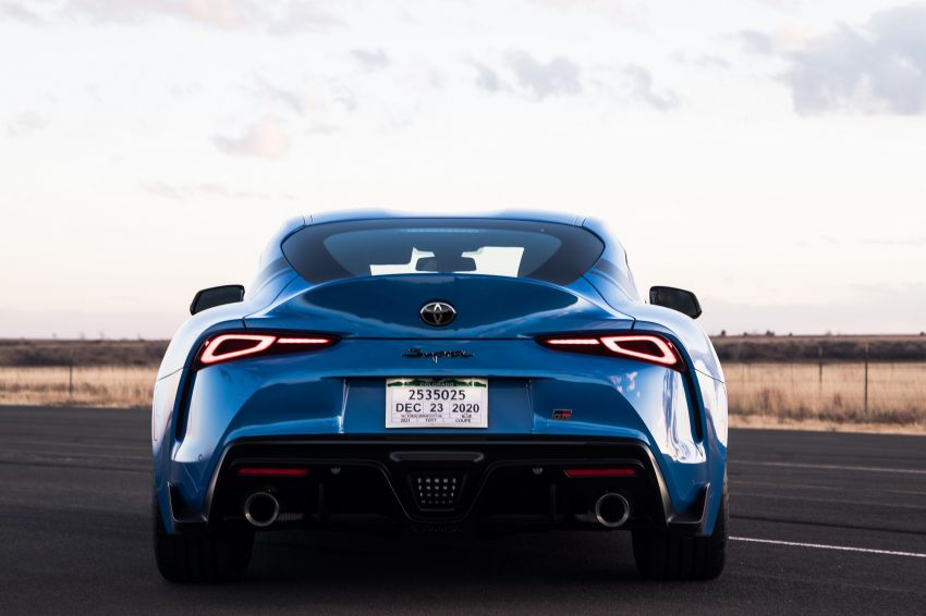 2021 Toyota GR Supra A91 Edition - Rear Wallpapers 850x566 #24