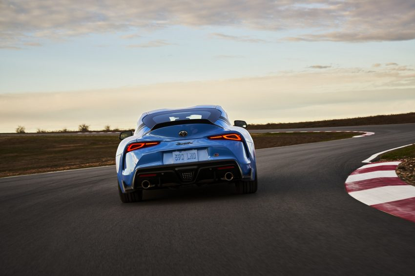 2021 Toyota GR Supra A91 Edition - Rear Wallpapers 850x566 #25