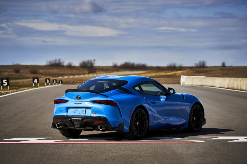 2021 Toyota GR Supra A91 Edition - Rear Wallpapers 850x566 #14