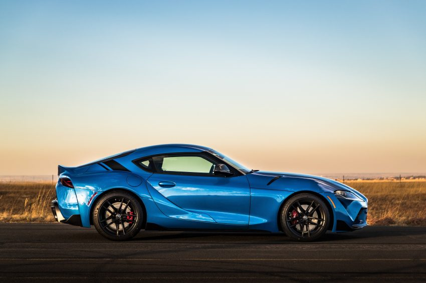 2021 Toyota GR Supra A91 Edition - Side Wallpapers 850x566 #32