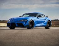 2021 Toyota GR Supra A91 Edition [US-spec] - Front Three-Quarter Wallpapers 190x150