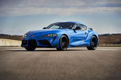 2021 Toyota GR Supra A91 Edition [US-spec] - Front Three-Quarter Wallpapers 420x280