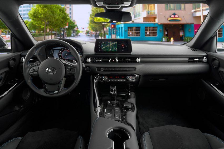 2021 Toyota GR Supra A91 Edition [US-spec] - Interior, Cockpit Wallpapers 850x567 #57