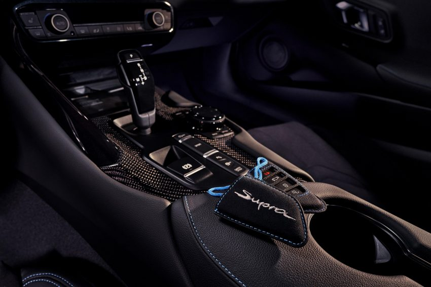 2021 Toyota GR Supra A91 Edition [US-spec] - Interior, Detail Wallpapers 850x567 #58