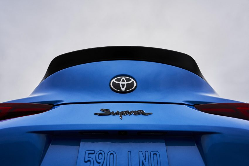 2021 Toyota GR Supra A91 Edition [US-spec] - Spoiler Wallpapers 850x566 #55