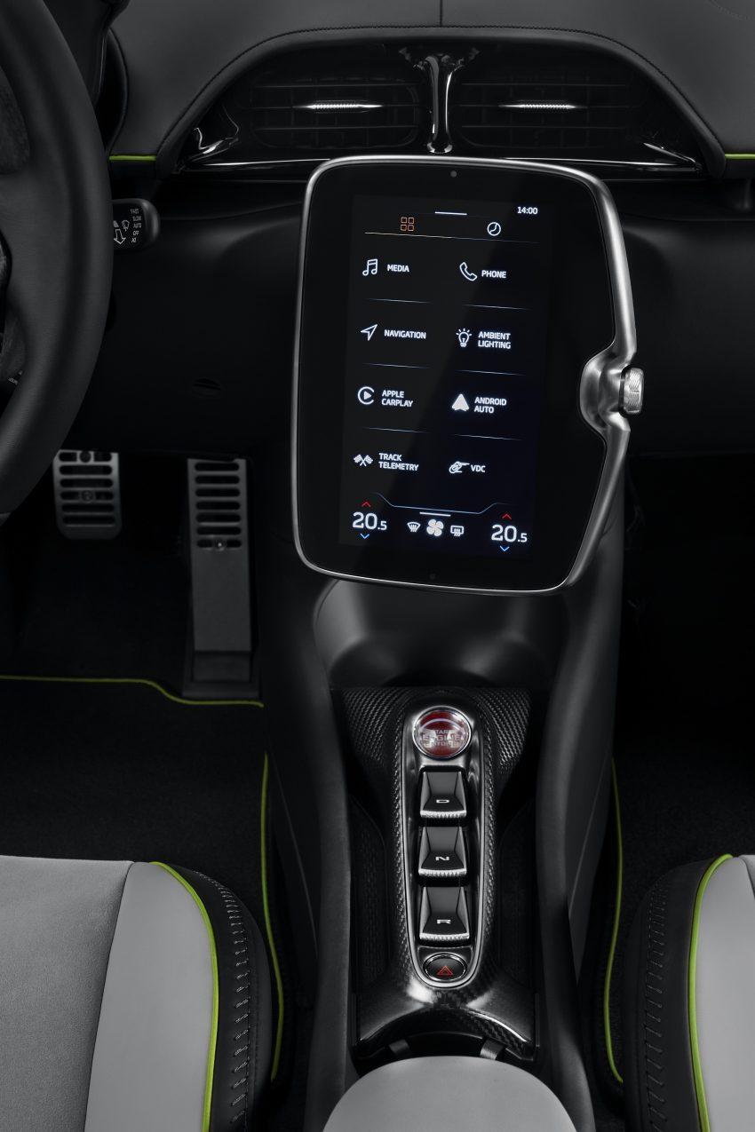 2022 McLaren Artura - Central Console Phone Wallpapers 850x1275 #46