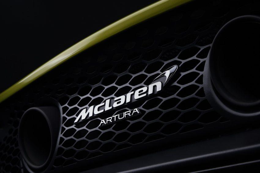2022 McLaren Artura - Detail Wallpapers 850x567 #34