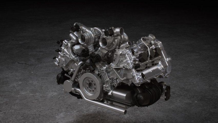 2022 McLaren Artura - Engine Wallpapers 850x478 #49