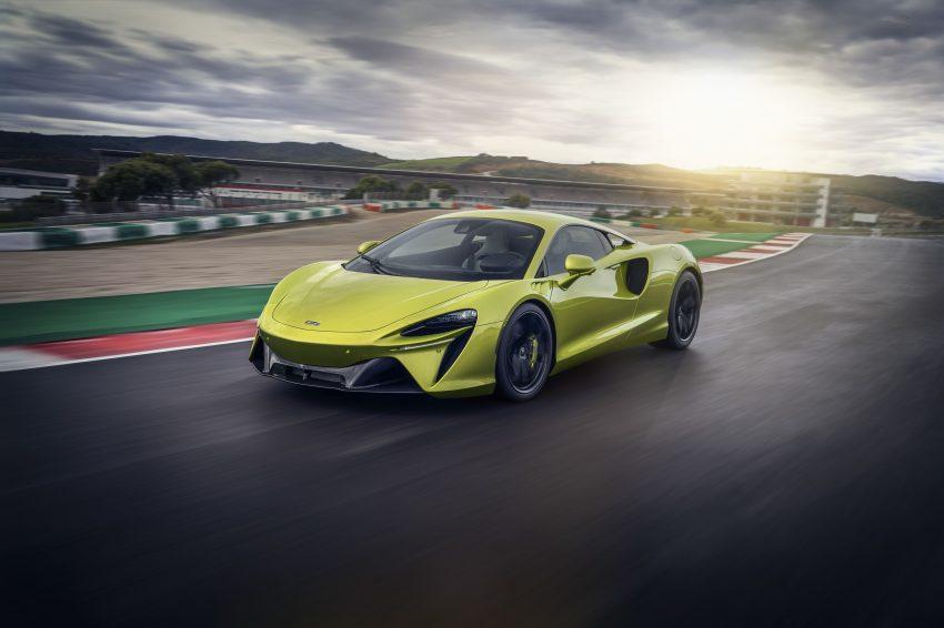 2022 McLaren Artura - Front Three-Quarter Wallpapers 850x566 #18