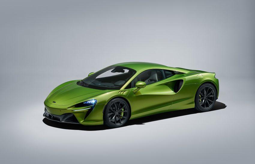 2022 McLaren Artura - Front Three-Quarter Wallpapers 850x545 #29