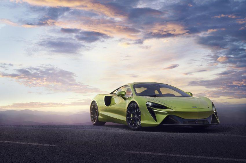 2022 McLaren Artura - Front Three-Quarter Wallpapers 850x566 #20